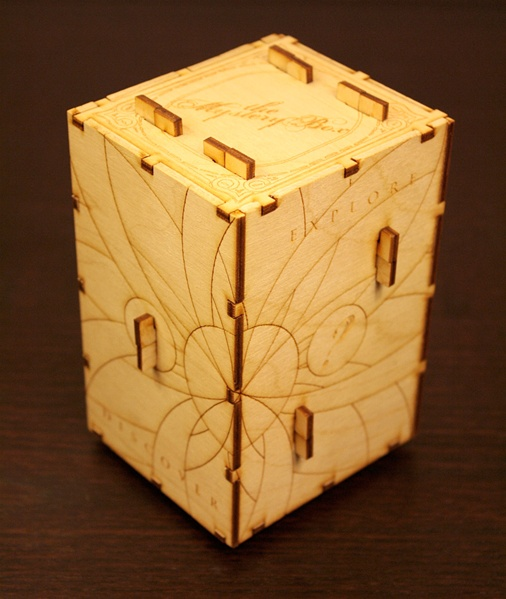 New in the Maker Shed: Mystery Box kit