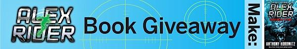 Reminder: Alex Rider book giveaway