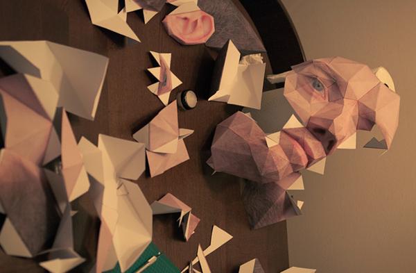 Big Head Mode papercraft costume