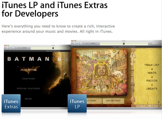 Using the Apple LP and Extras format for learning?