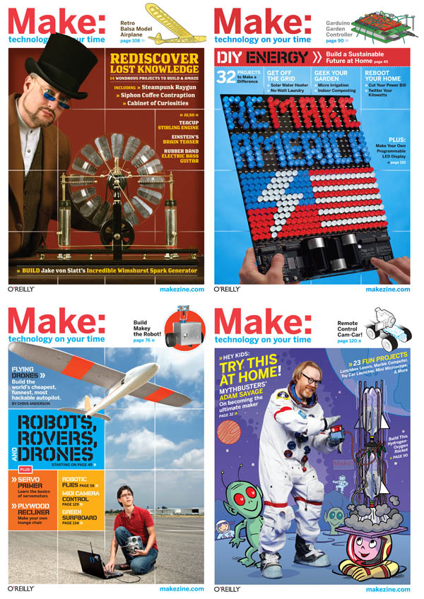 Best projects of 2009, MAKE magazine
