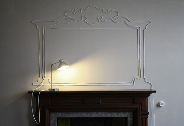 Turning unsightly cables into design