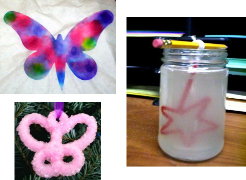 How-To:  Chemistry-themed Xmas ornaments