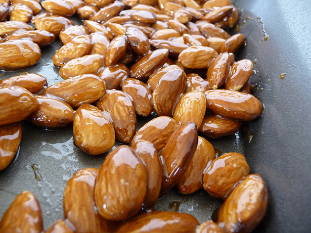 Cinnamon Maple Pecans and Sugar & Spice Almonds