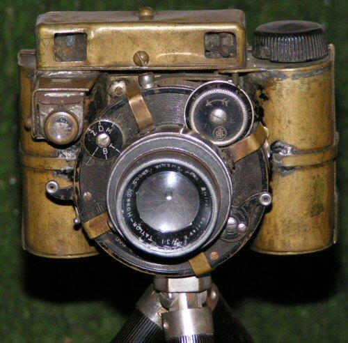 Homemade camera body