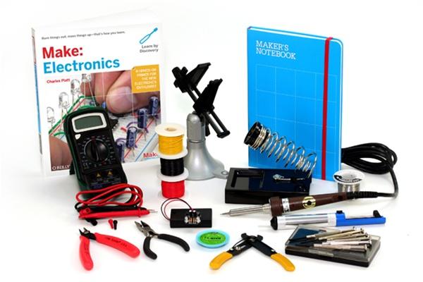 Awesome Make: Electronics book/tool kit bundle offer