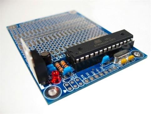 New in the Maker Shed: Hardcopy ATMega328 kit