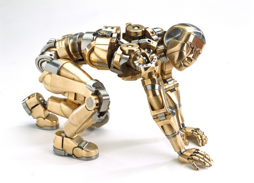Jaw-dropping fully articulated machined figurines