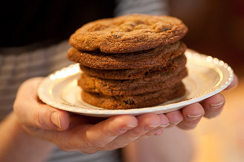 Mary Lou's Raisin Jingle Cookies