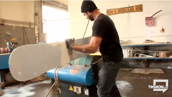 Signal Snowboards build video