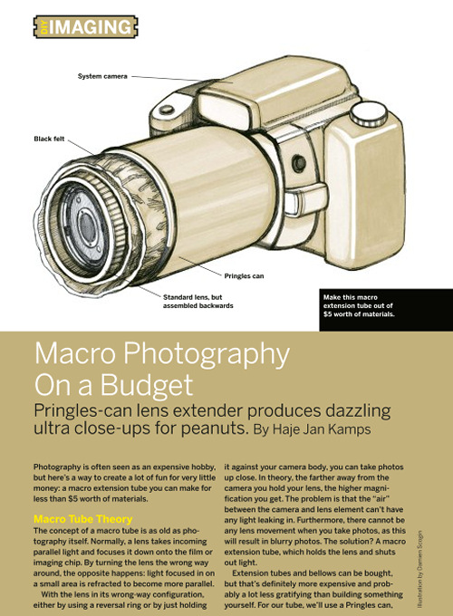Weekend Project: Macro Photography On a Budget (PDF)