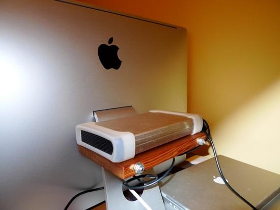 iMac shelf…