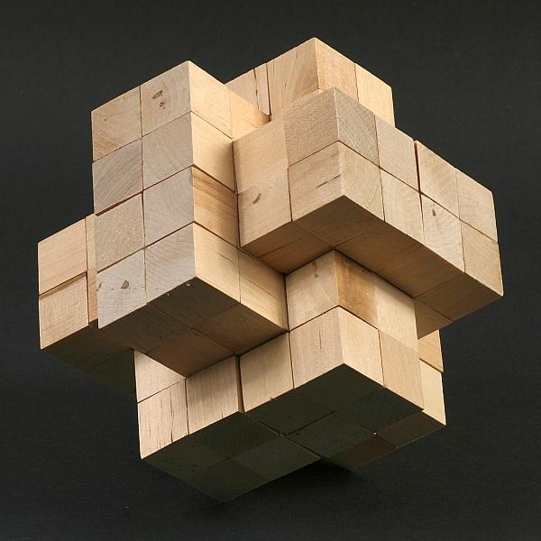 Math Monday: Giant Burr Puzzles