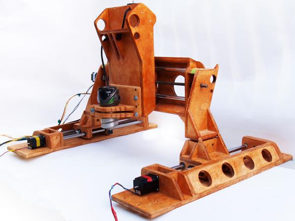 Portable wooden CNC machine