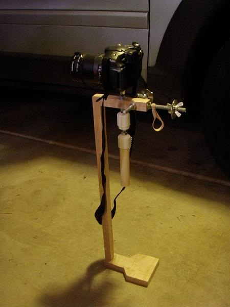 DIY steadicam with cheap/easy gimbal