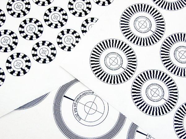 Encoder wheel generator
