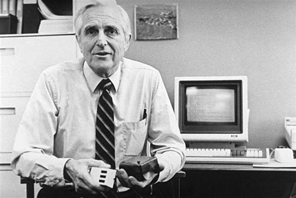 Maker Birthdays:  Douglas Engelbart