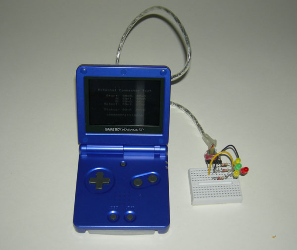 Gameboy as robot remote control