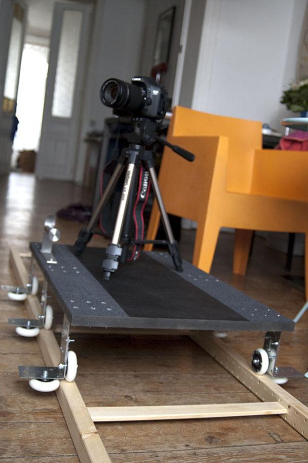 Ikea camera dolly hack