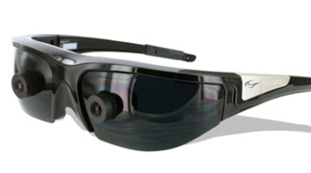 fdce8102b Alt.CES: Vuzix augmented reality glasses | Make: