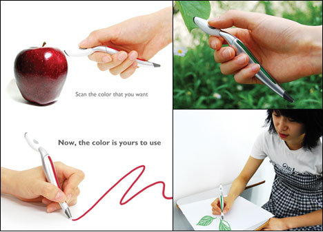 Physical color picker