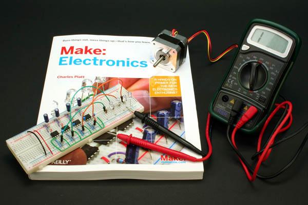 Tom Igoe raves about Make: Electronics