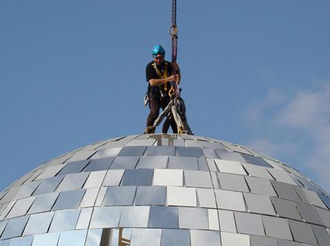 World's biggest disco ball