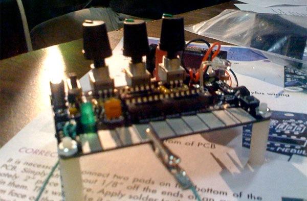 The Nebulophone Arduino-based stylus synth