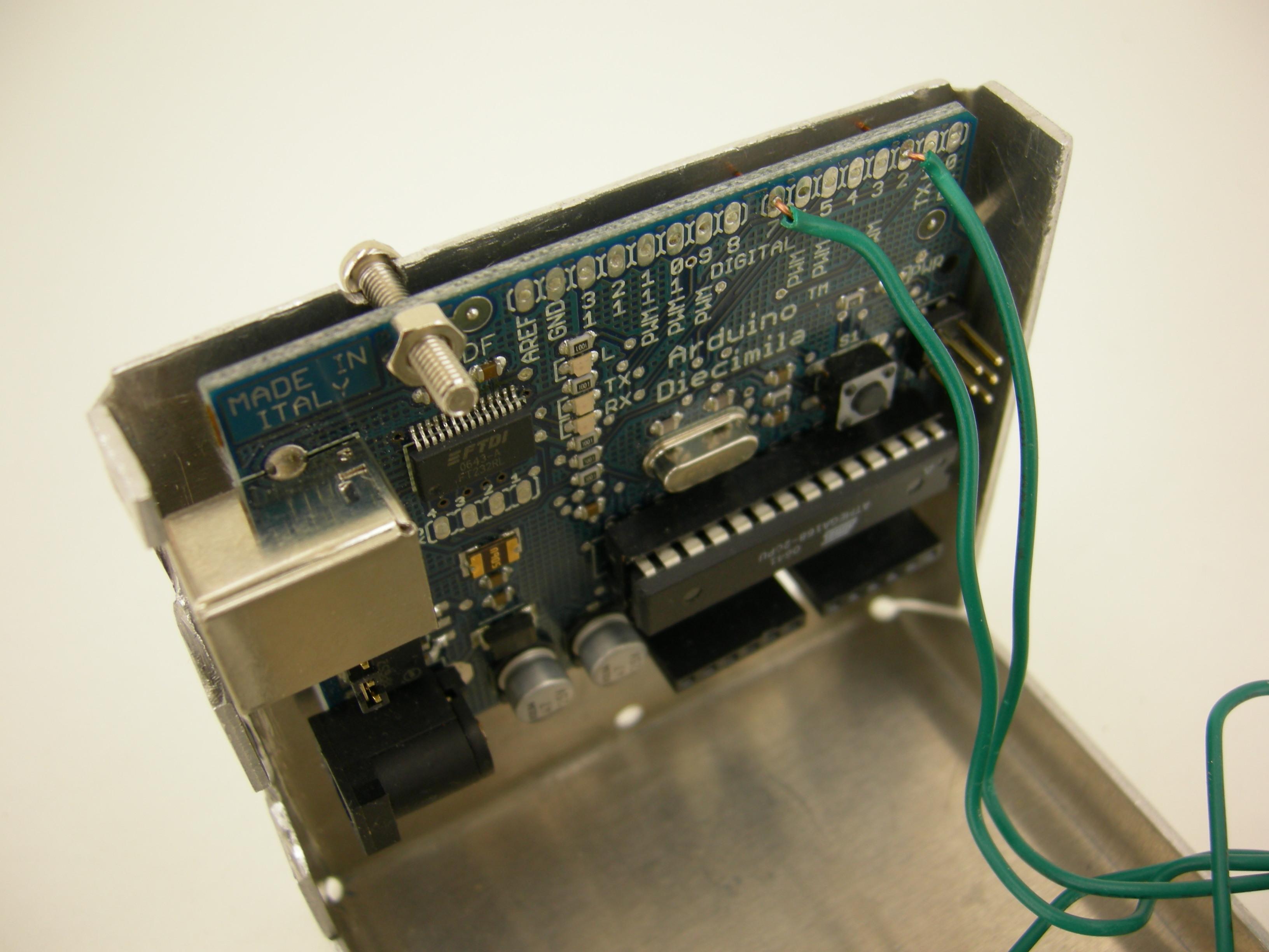 Intern's Corner: Makey robot's sonar and maiden voyage