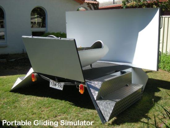 Transportable Gliding Simulator