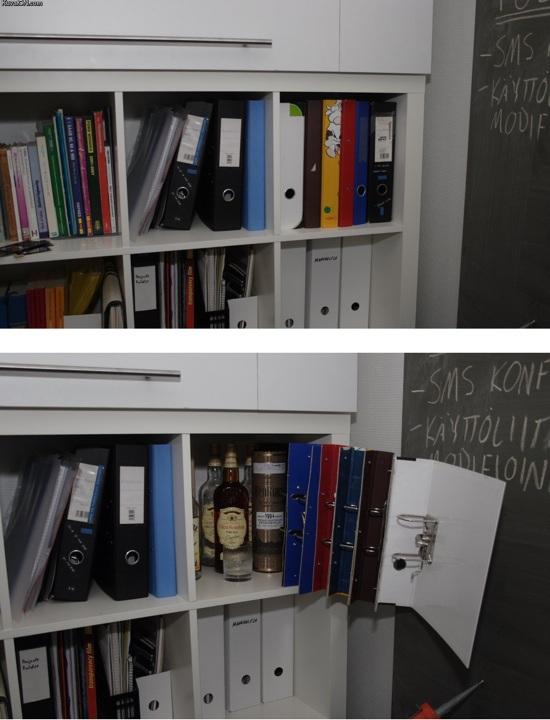 Secret bar in office