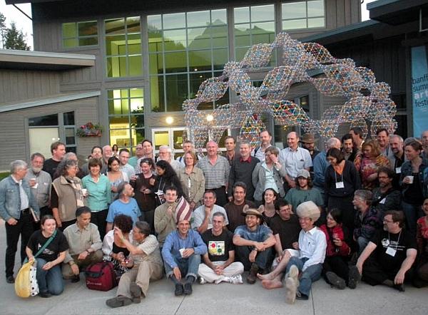 Math Monday: Giant Zometool sculpture