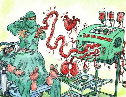 Printing body parts: Making a bit of me @ The Economist