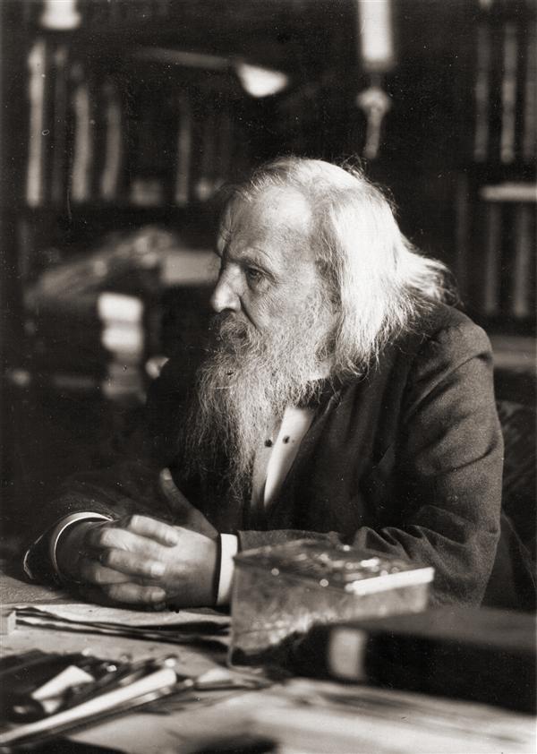 Maker Birthdays:  Dmitri Mendeleev