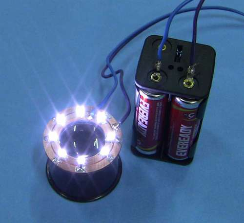 Illuminate your eye loupe with this Instructable