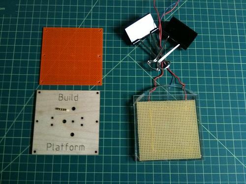 MakerBot heated build platform