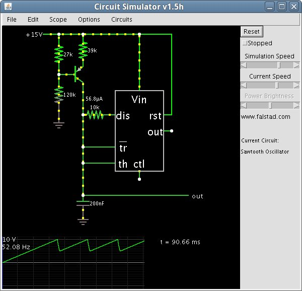 Online Circuit Board Simulator