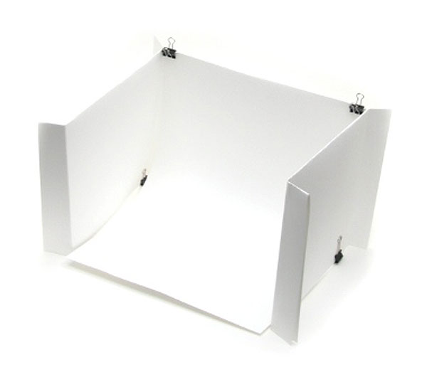 Article Featured Image  sc 1 st  Makezine & DIY light tent using plain paper and binder clips | Make: