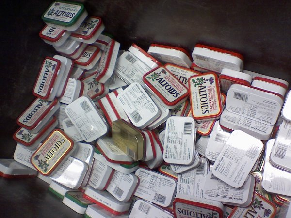 What to do with lots of Altoids tins?