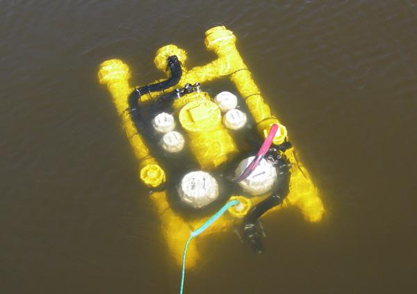 DIY PVC submarine