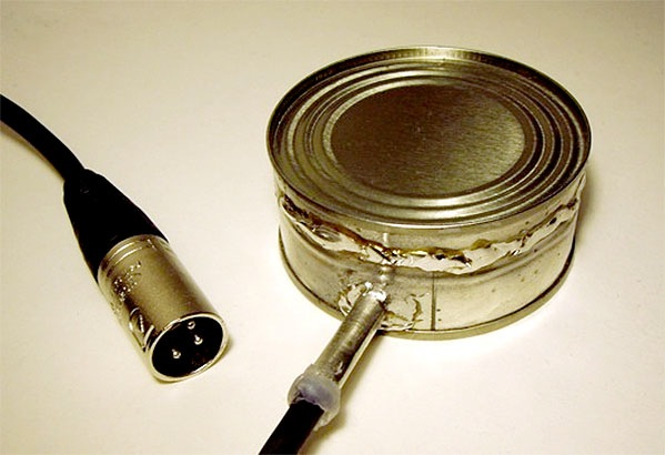 How-To: Steel can hydrophone