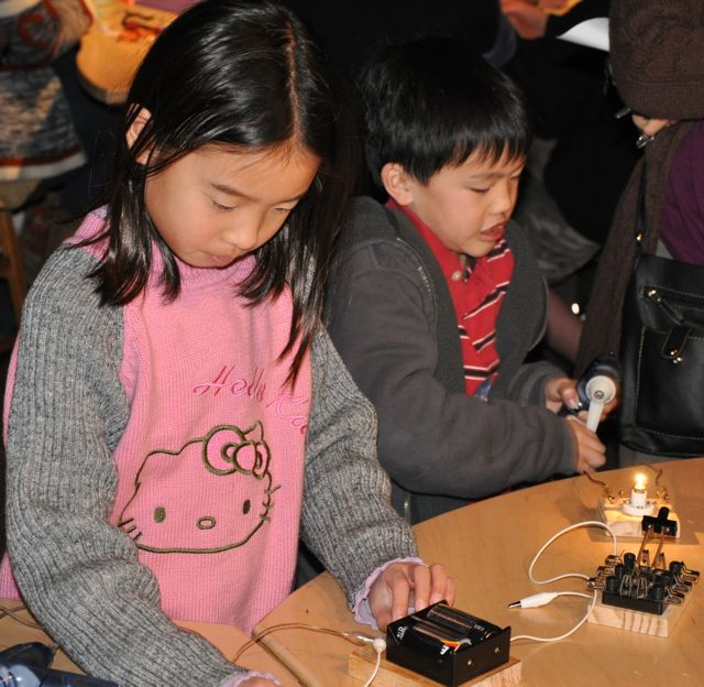 Young Makers at the Exploratorium