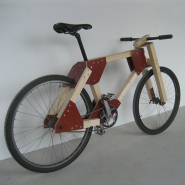 DIY Wooden Bicycle