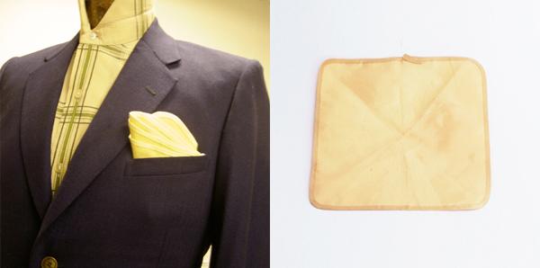 Gentleman's bulletproof pocket square