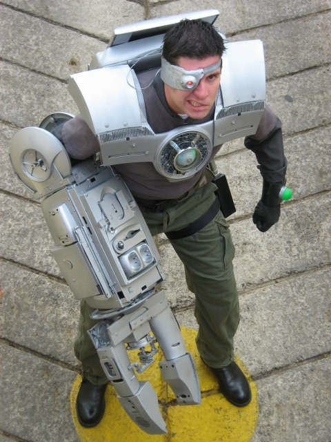How-To: Mad cyborg costume