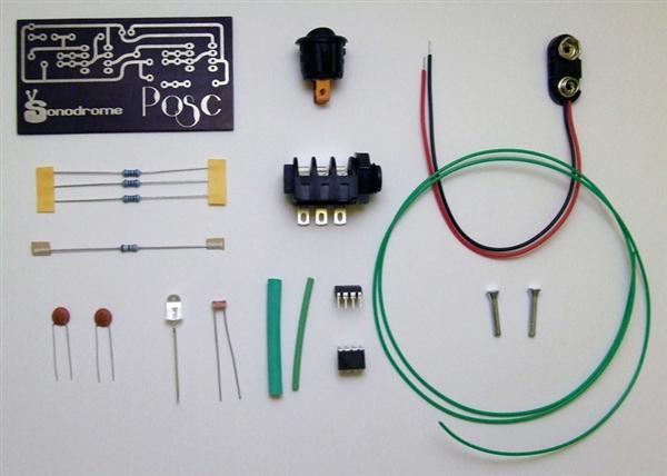 In the Makers Market:  Posc pocket audio oscillator kit