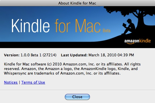 Kindle for Mac – can't search your books