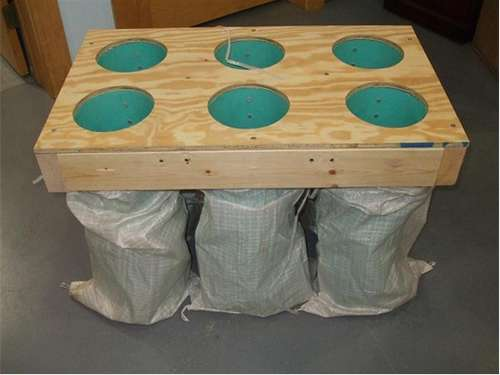 How-To:  Build a sandbag-filling jig