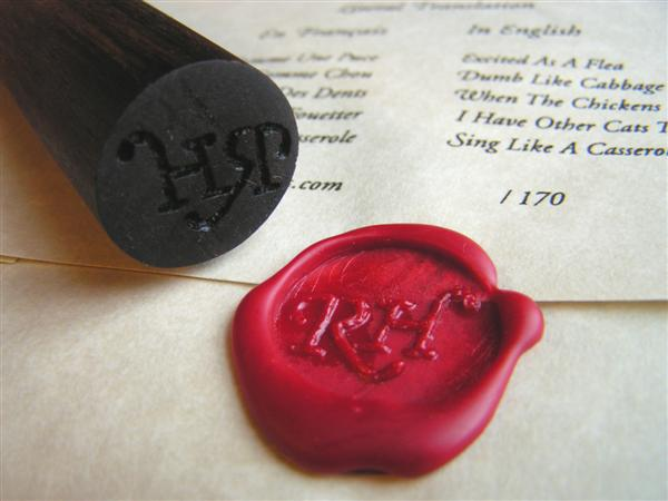How-To: Make a wax seal from a piece of closet rod