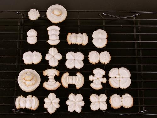 Hydrogen orbital cookies